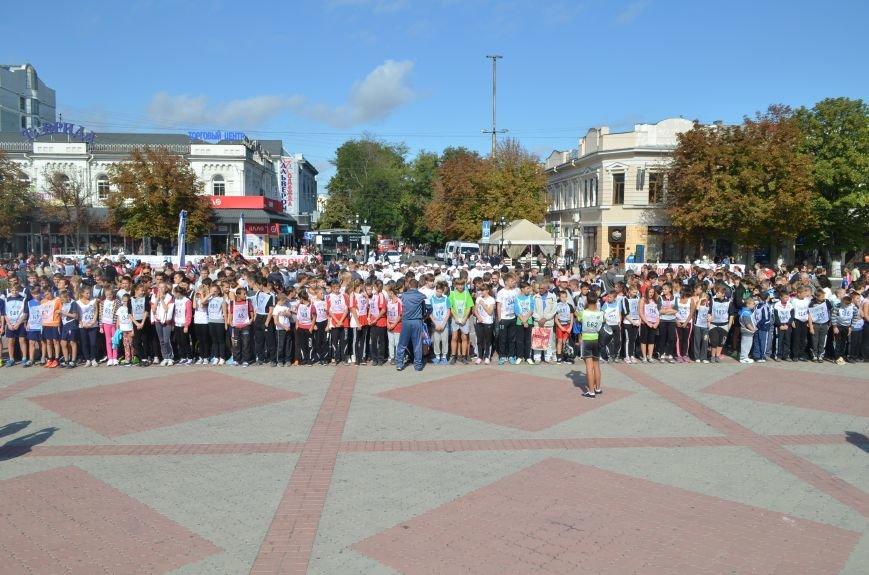ФОТОРЕПОРТАЖ: В Симферополе более 2 тысяч бегунов поучаствовали в «Кроссе наций», фото-1