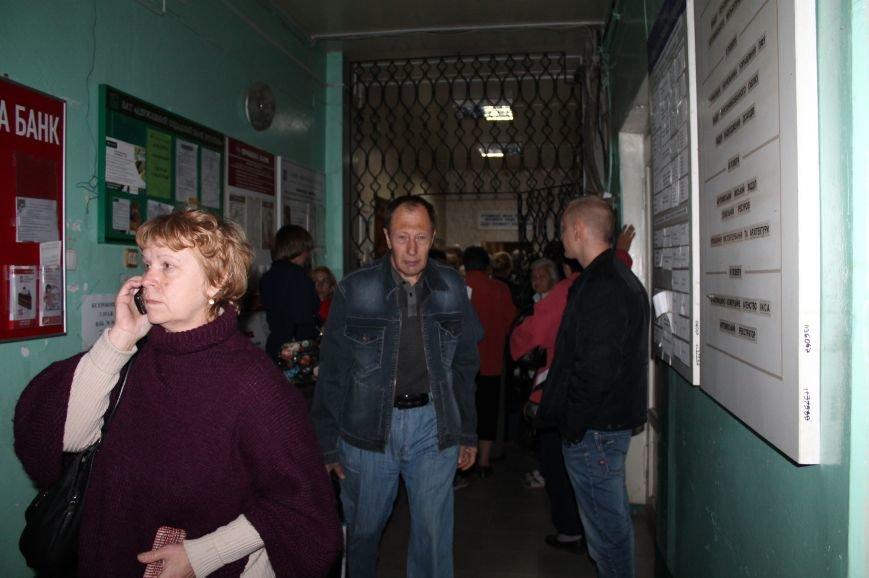 В Артемовск для переоформления выплат ежедневно приезжают сотни горловских пенсионеров, фото-4