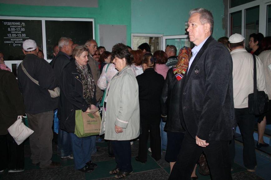 В Артемовск для переоформления выплат ежедневно приезжают сотни горловских пенсионеров, фото-2