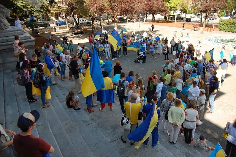 Мариупольцы участвовали  в канадском Марше мира, прошедшем в Ванкувере (ФОТОРЕПОРТАЖ), фото-2