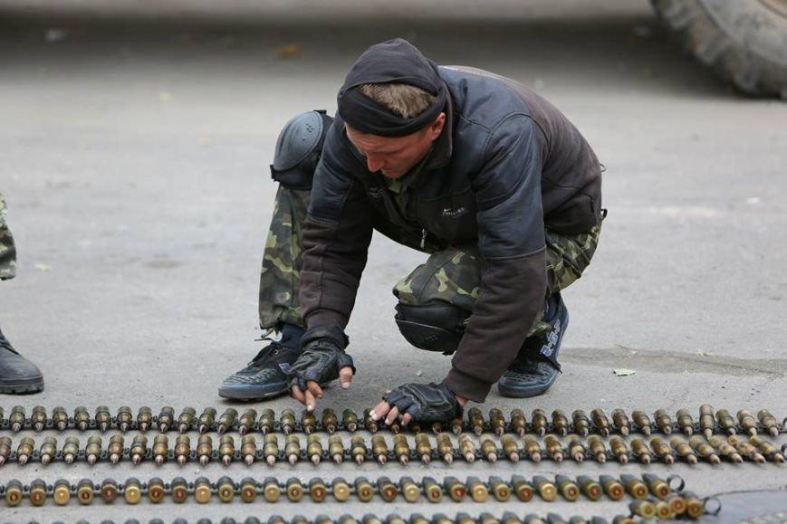 Под Мариуполем несут службу украинские военные (ФОТОРЕПОРТАЖ), фото-5