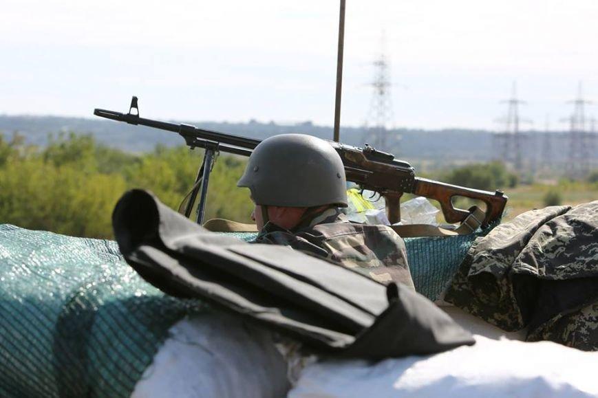 Под Мариуполем несут службу украинские военные (ФОТОРЕПОРТАЖ), фото-23