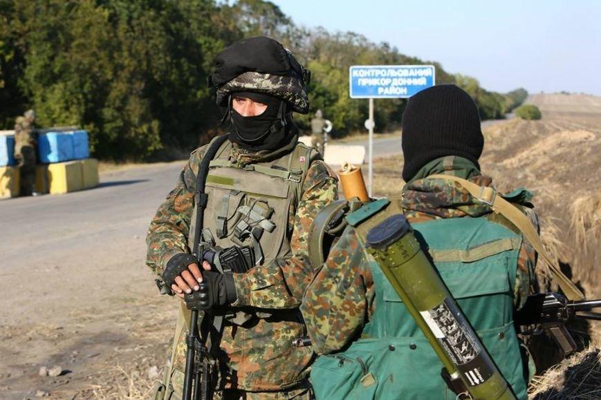 Под Мариуполем несут службу украинские военные (ФОТОРЕПОРТАЖ), фото-8