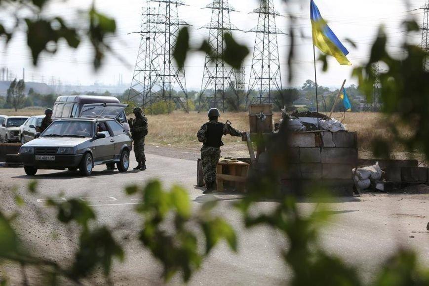 Под Мариуполем несут службу украинские военные (ФОТОРЕПОРТАЖ), фото-6
