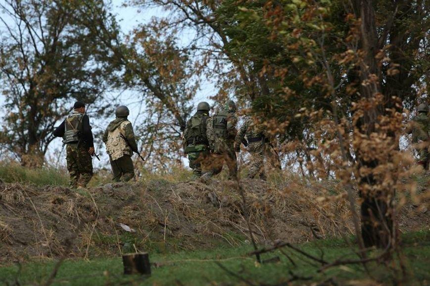 Под Мариуполем несут службу украинские военные (ФОТОРЕПОРТАЖ), фото-15