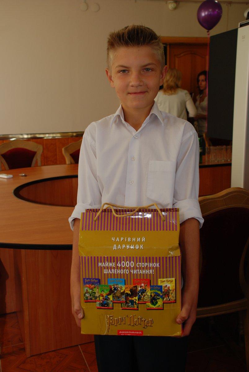 призер всеукраїнського рівня Богдан Валінькевич