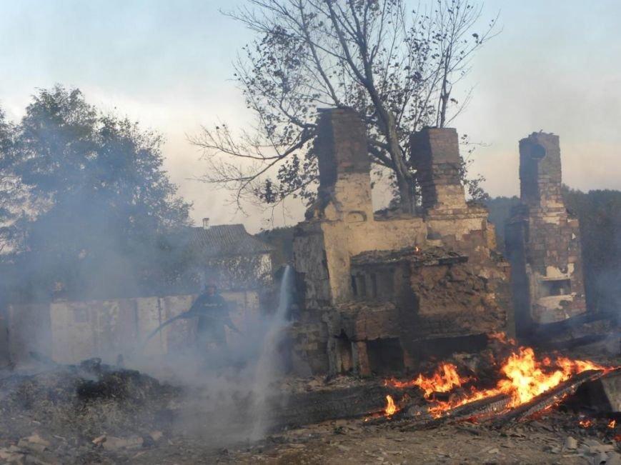 Масштабный пожар тушили спасатели из Чернигова, Остра и Славутича, фото-2