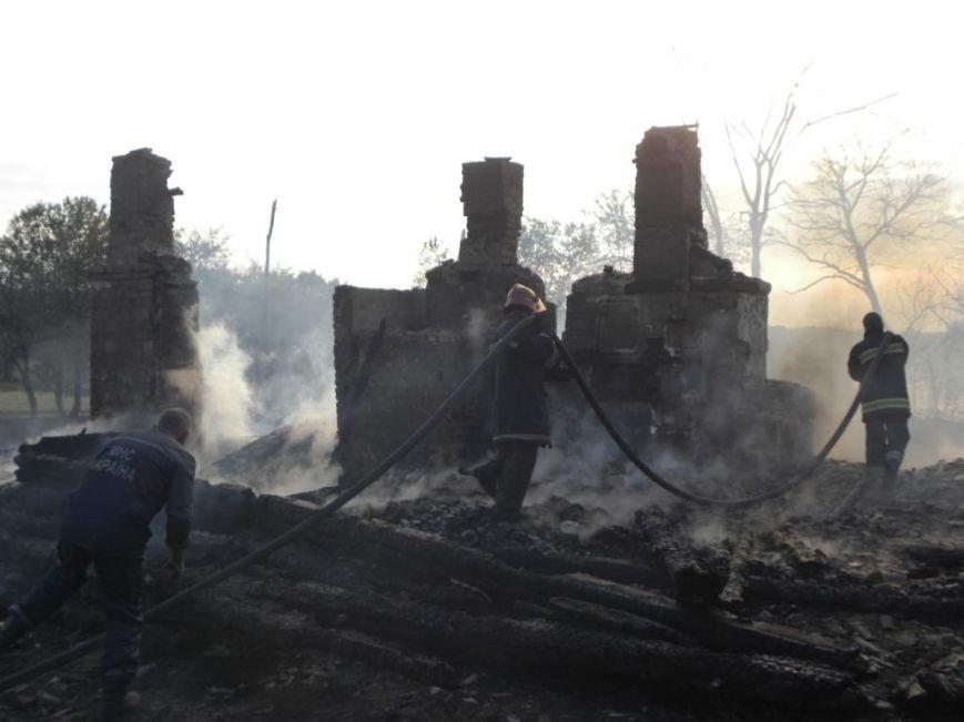 Масштабный пожар тушили спасатели из Чернигова, Остра и Славутича, фото-4