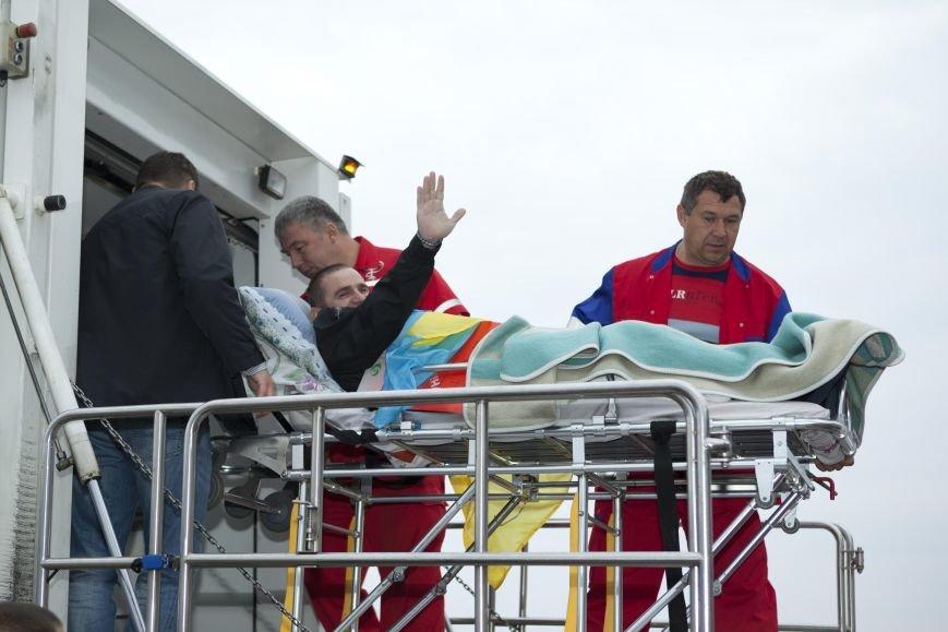 10 украинских военнослужащих направлены из Днепропетровска в Эстонию на лечение, фото-5