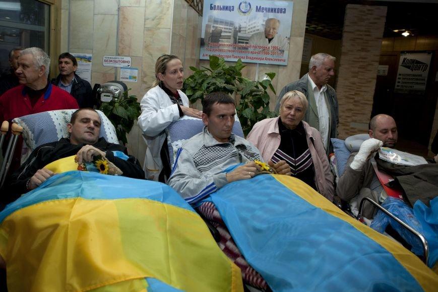 10 украинских военнослужащих направлены из Днепропетровска в Эстонию на лечение, фото-2