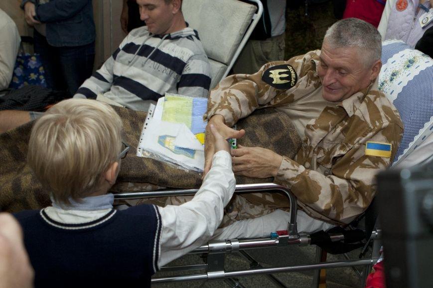 10 украинских военнослужащих направлены из Днепропетровска в Эстонию на лечение, фото-1