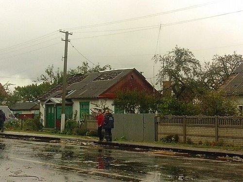 На Рівненщині негода зруйнувала 32 житлові будинки (Фото, Відео), фото-1