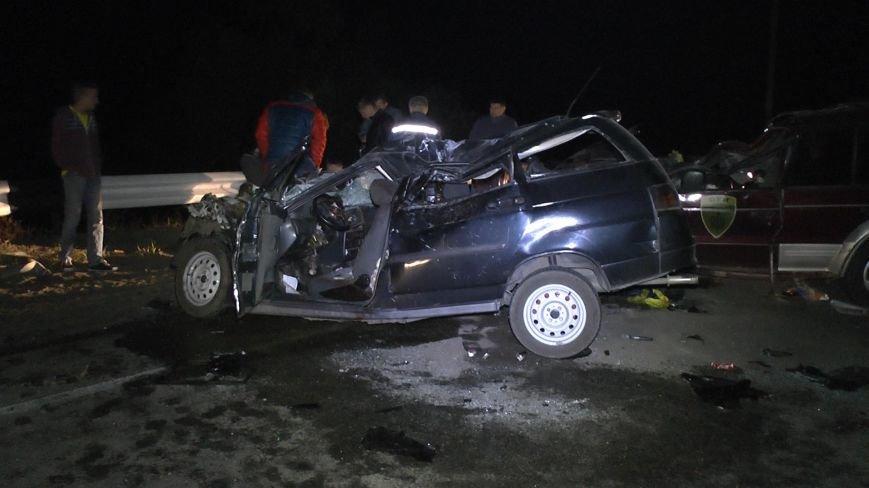 На Днепропетровщине столкнулись три автомобиля (ФОТО), фото-3