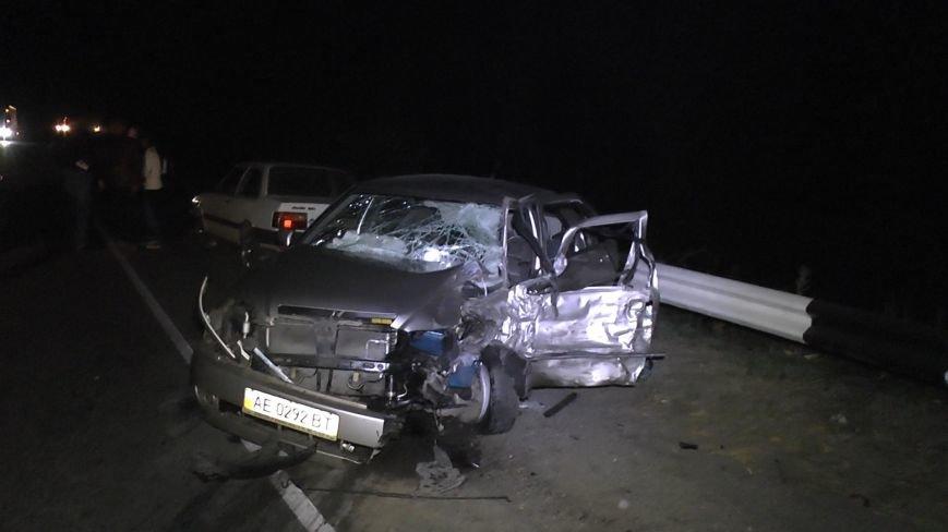На Днепропетровщине столкнулись три автомобиля (ФОТО), фото-1