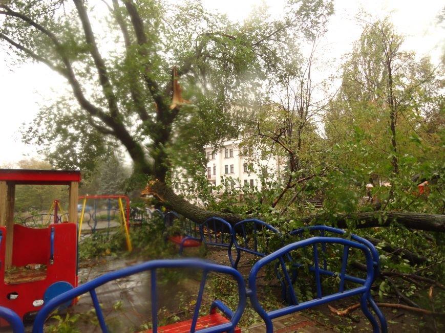 Ураганный ветер продолжает атаку на Мариуполь (ФОТОРЕПОРТАЖ), фото-20