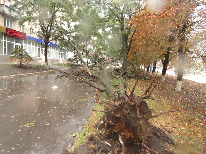 Ураганный ветер продолжает атаку на Мариуполь (ФОТОРЕПОРТАЖ), фото-2