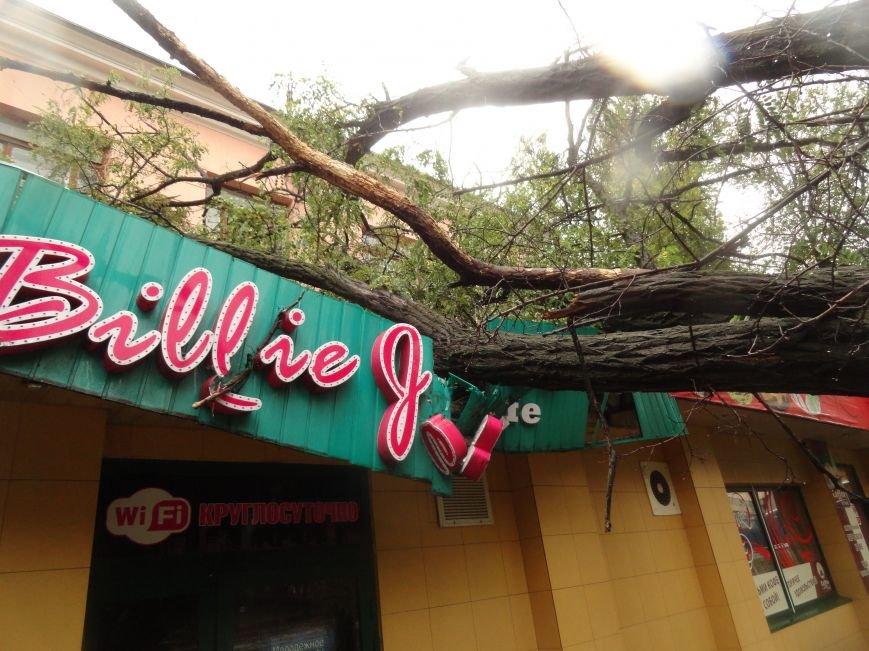 Ураганный ветер продолжает атаку на Мариуполь (ФОТОРЕПОРТАЖ), фото-7