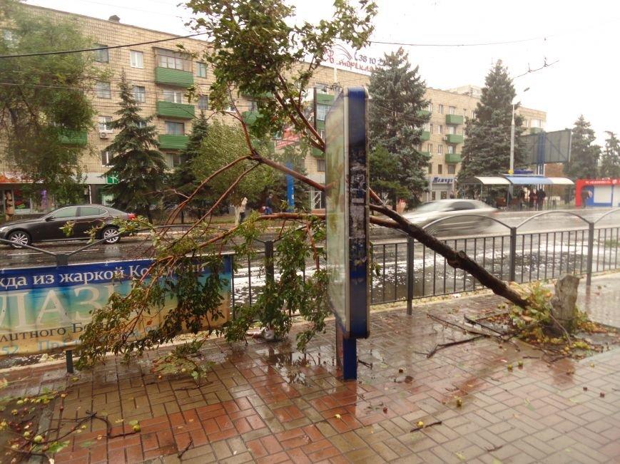 Ураганный ветер продолжает атаку на Мариуполь (ФОТОРЕПОРТАЖ), фото-16