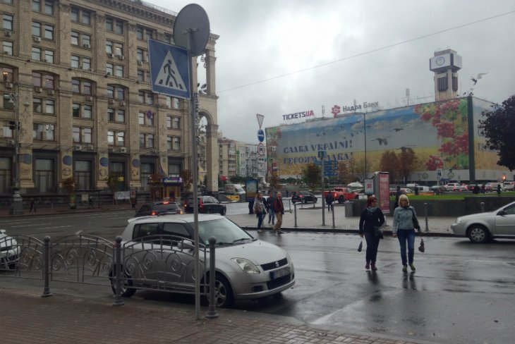 В столице на Городецкого открыли наземный переход (ФОТО), фото-4