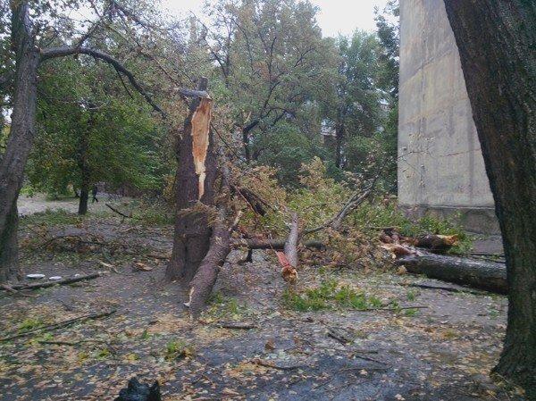 На Днепродзержинск обрушилась стихия, фото-1