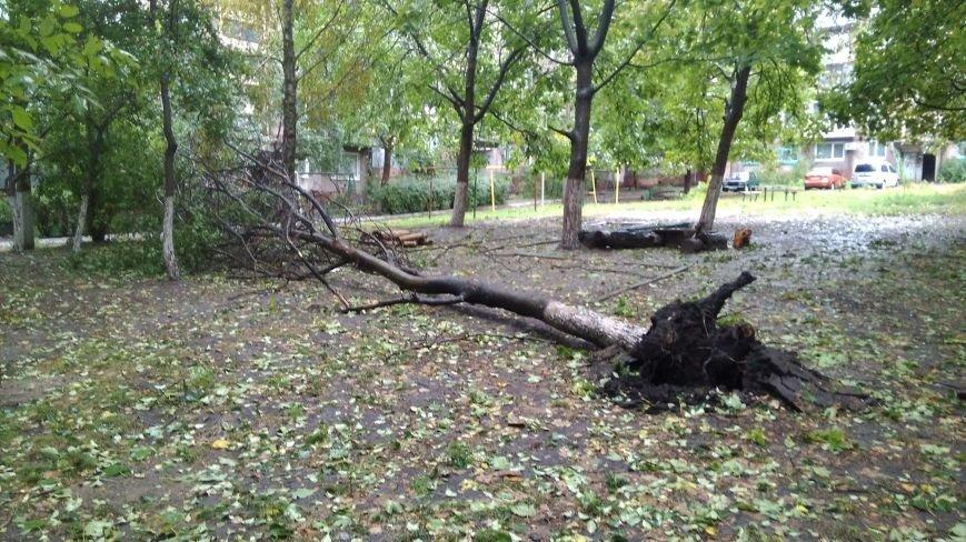На Днепродзержинск обрушилась стихия, фото-9