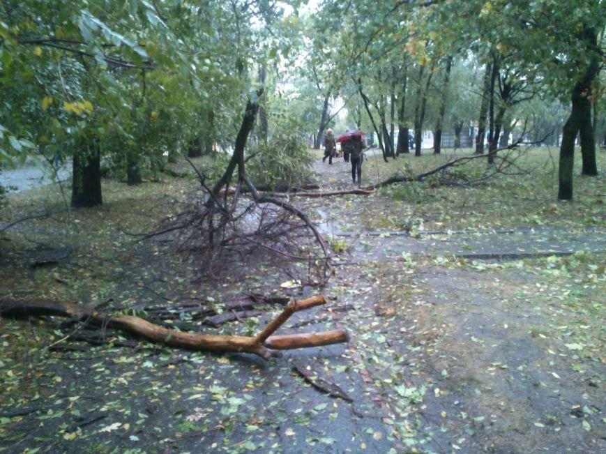 На Днепродзержинск обрушилась стихия, фото-7