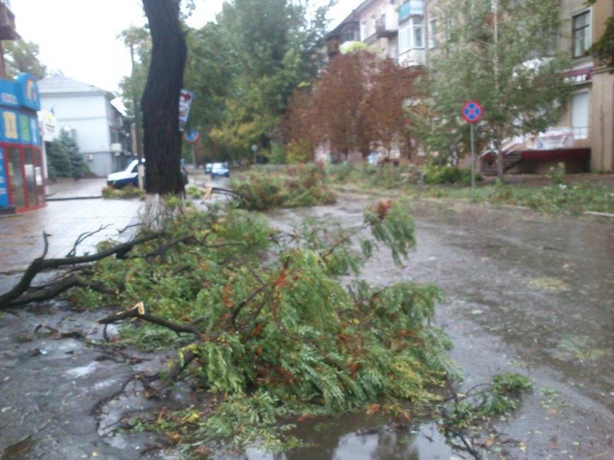 На Днепродзержинск обрушилась стихия, фото-2