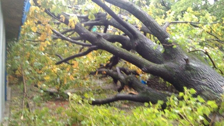 На Днепродзержинск обрушилась стихия, фото-8