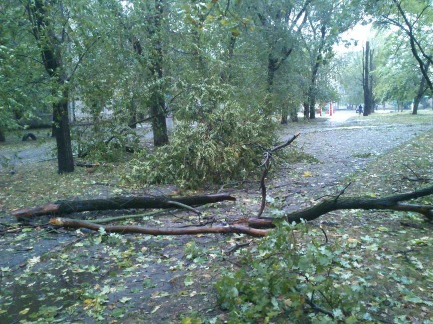 На Днепродзержинск обрушилась стихия, фото-5