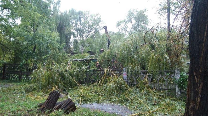 На Днепродзержинск обрушилась стихия, фото-12