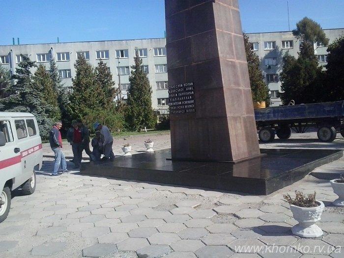 У Рівному відновили пам'ятник «Партизанам і підпільникам» (Фото), фото-1