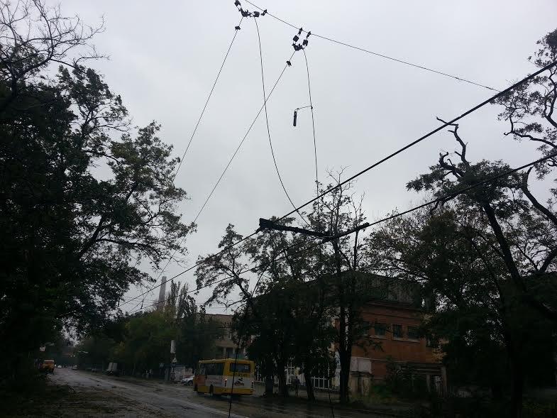 Стихия оставила разрушения на шестом участке Левого берега (ФОТО), фото-10