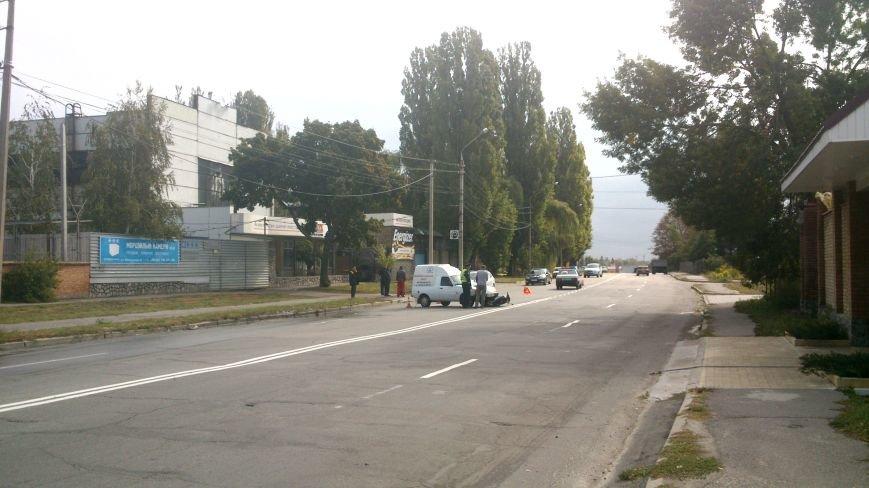 Сегодня на улице Московская скутер попал под колёса «пирожка» (ФОТО), фото-2