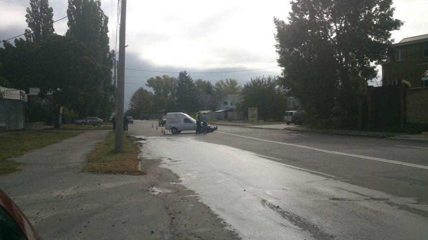 Сегодня на улице Московская скутер попал под колёса «пирожка» (ФОТО), фото-1