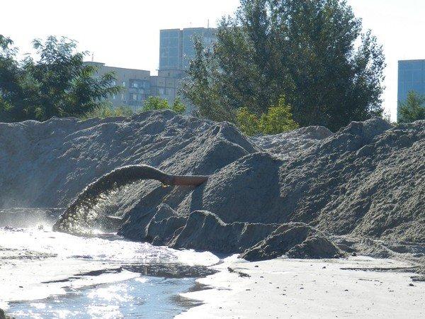 На ж/м Парус незаконно добывают песок? (ФОТО), фото-3