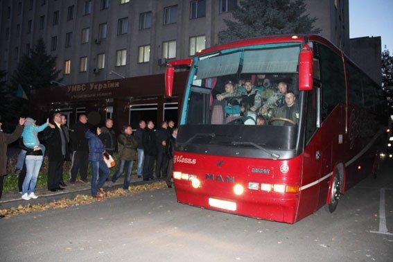 Черниговские бойцы возвращаются в зону АТО, фото-3