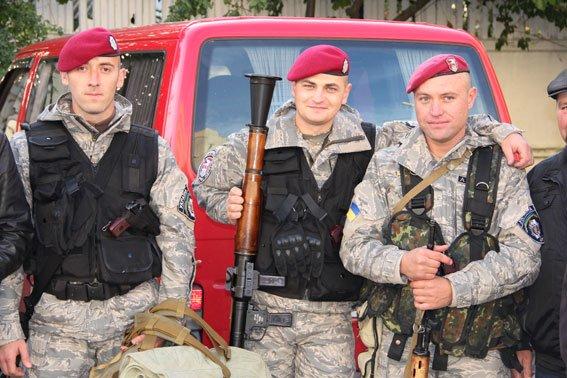 Черниговские бойцы возвращаются в зону АТО, фото-1