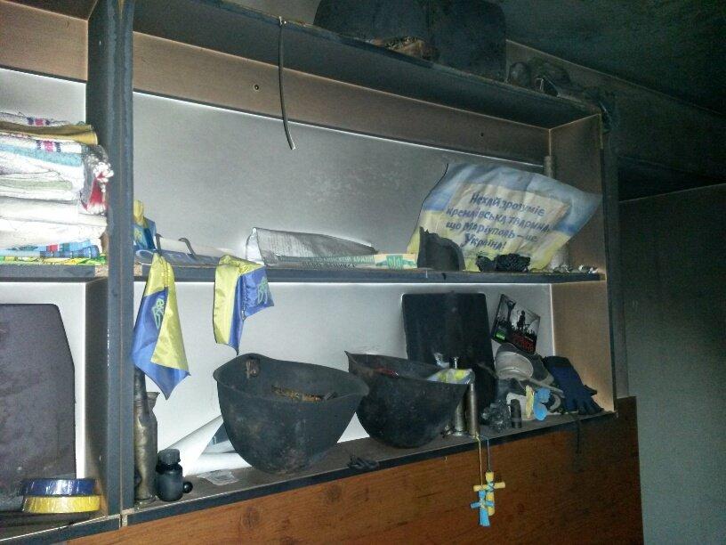 Подожгли офис волонтерской организации «Новый Мариуполь» (ФОТОРЕПОРТАЖ+ВИДЕО), фото-18