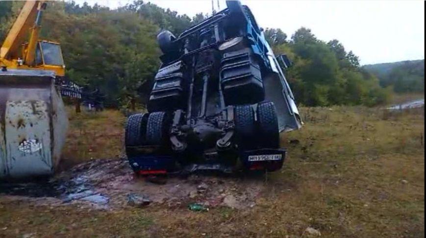 На Сумщине в ДТП погиб водитель автоцистерны (ВИДЕО), фото-4