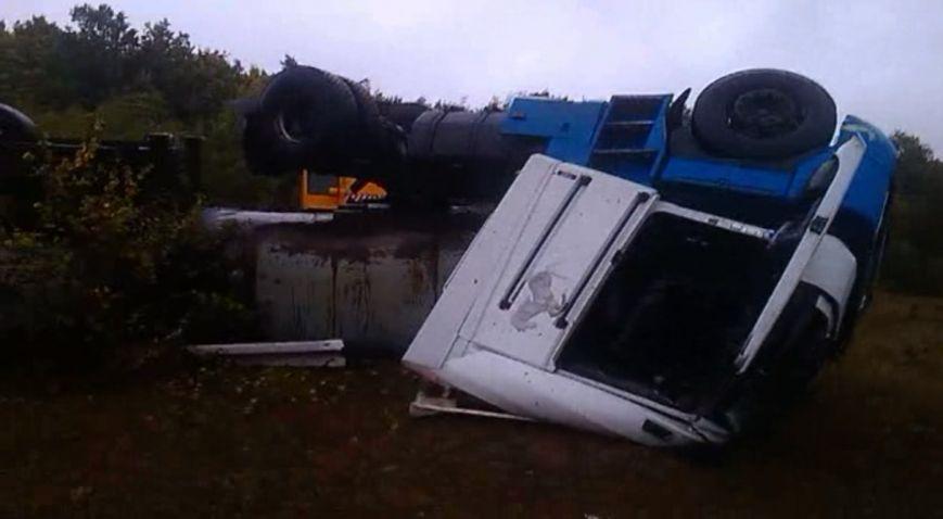 На Сумщине в ДТП погиб водитель автоцистерны (ВИДЕО), фото-2