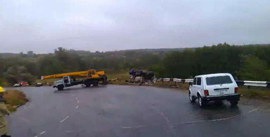 На Сумщине в ДТП погиб водитель автоцистерны (ВИДЕО), фото-3