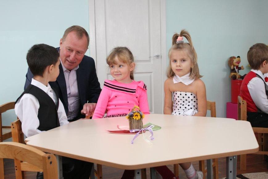Новую группу на 25 детей открыли в детском саду в Индустриальном районе Днепропетровска, фото-1