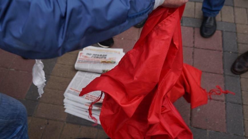 Ответственность за разгром палатки коммунистов на ЮЖД взял на себя «Правый Сектор»: ФОТО+ВИДЕО, фото-2
