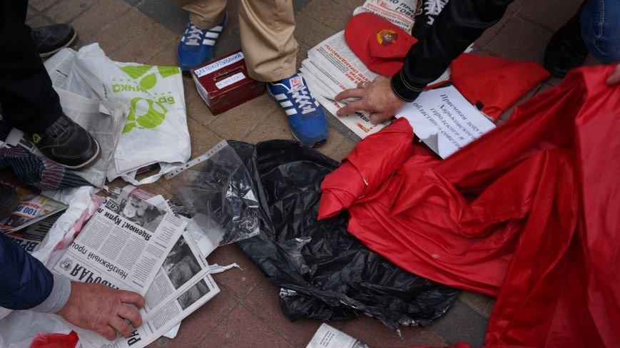 Ответственность за разгром палатки коммунистов на ЮЖД взял на себя «Правый Сектор»: ФОТО+ВИДЕО, фото-1