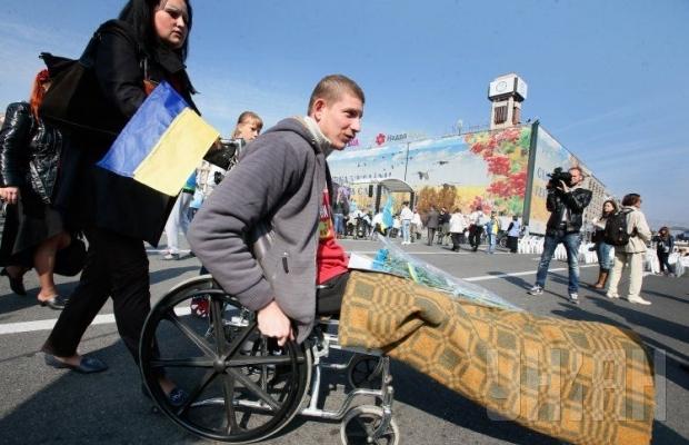 В Киеве люди с особыми потребностями провели Марш мира (ФОТО, ВИДЕО), фото-6