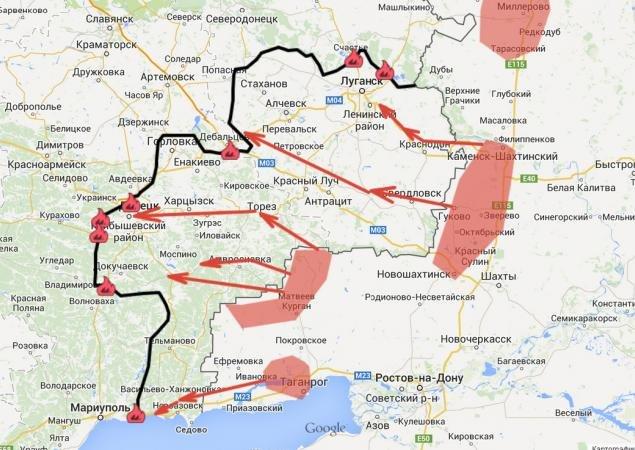 Машовец: борьба за аэропорт в Донецке превратилась в некий фетиш для обеих сторон (КАРТА), фото-1