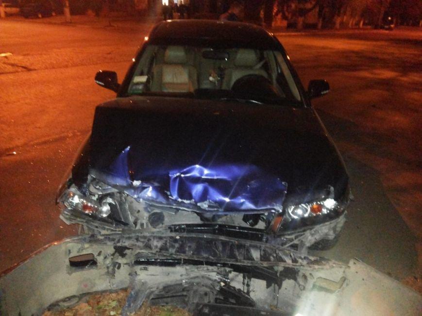 В Мариуполе столкнулись «Хонда» и «Жигули». Пострадала женщина (ФОТО), фото-1
