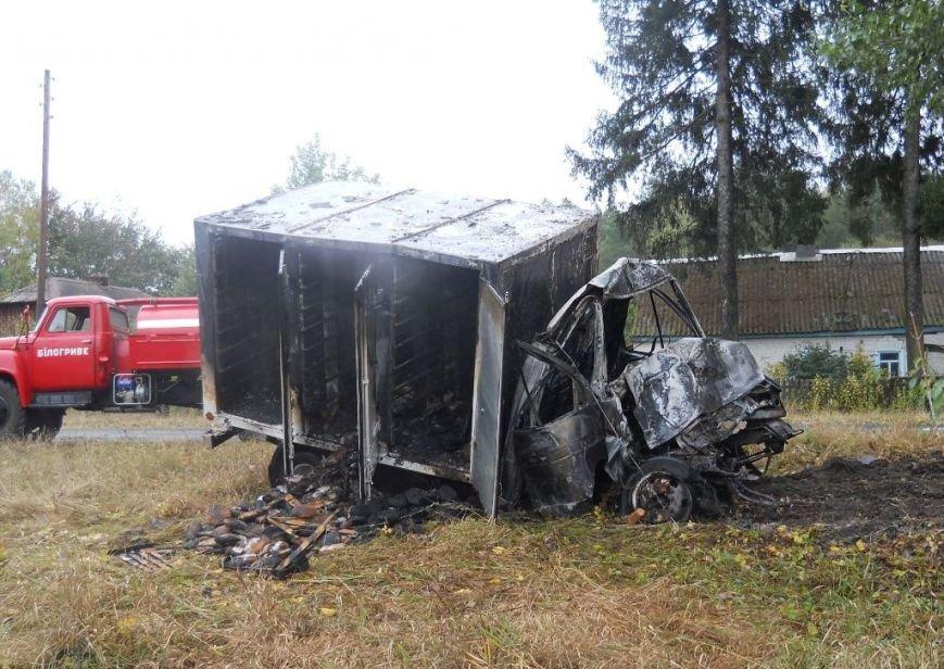 На Сумщине очевидцы аварии вытащили водителя из горящего грузовика (ФОТО), фото-3