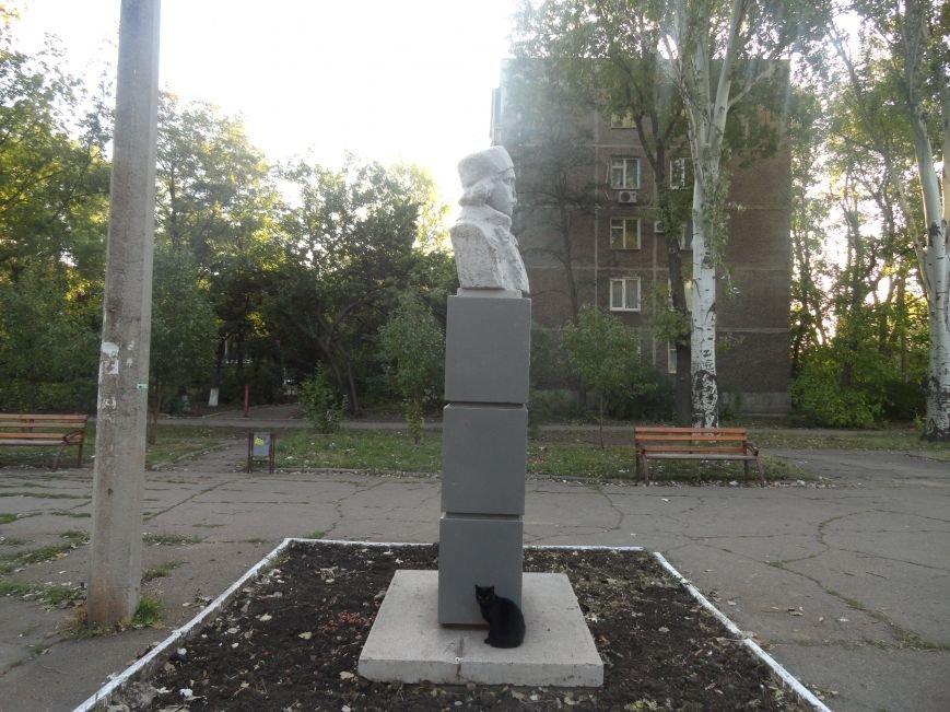 Еще один памятник в Мариуполе подвергся нападению вандалов (ФОТО), фото-1