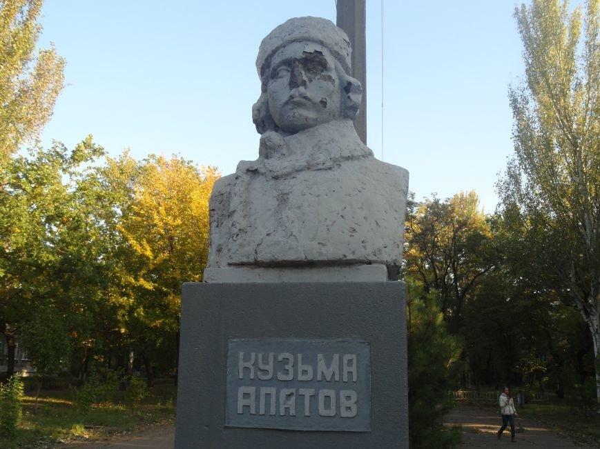 Еще один памятник в Мариуполе подвергся нападению вандалов (ФОТО), фото-5